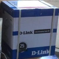 D-Link Cat6 Pure copper UTP 23 AWG Ethernet Cables Kenya 305 Meters
