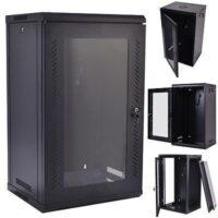 18U Data Cabinets 600 x 450. (Wall Mount)