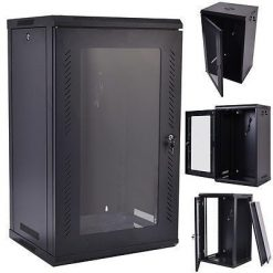 18U Data Cabinets 600 x 450. (Wall Mount)