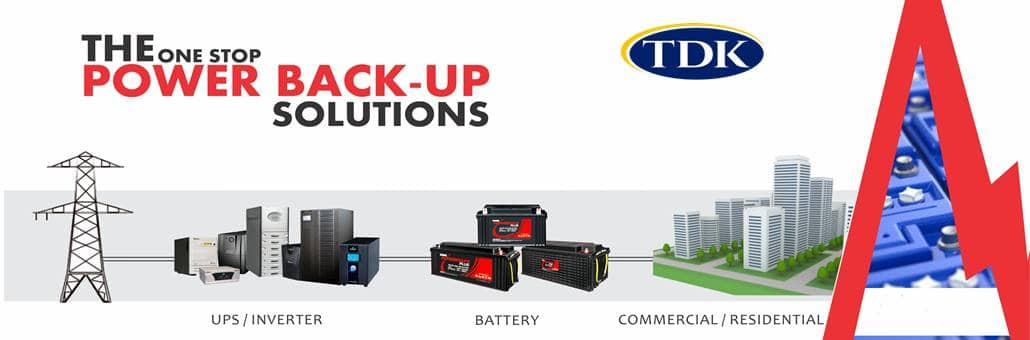 Tdk Power Solutions and Battery Back Up for Offices in Kenya